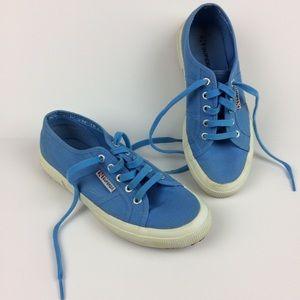 Superga blue sneakers